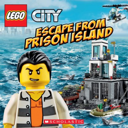 LEGO City: Escape from Prison Island cover