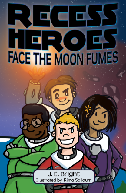 Recess Heroes Face the Moon Fumes cover