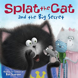 Splat the Cat and the Big Secret cover