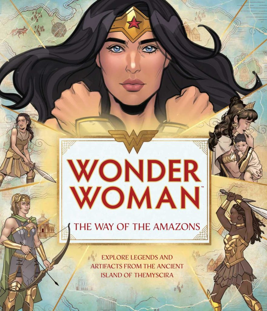 Wonder Woman: The Way of the Amazons cover