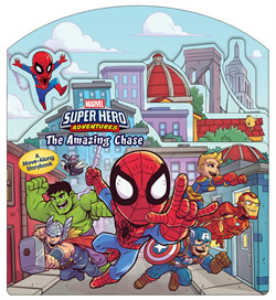 Marvel Super Hero Adventures: The Amazing Chase cover