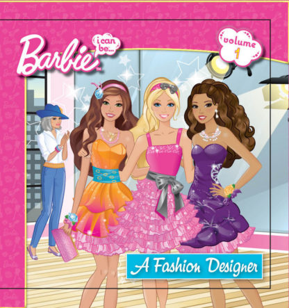 Barbie: I Can Be . . . a Fashion Designer cover