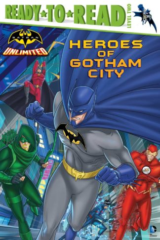 Batman Unlimited: Heroes of Gotham City cover