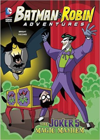 Batman & Robin Adventures: The Joker's Magic Mayhem cover