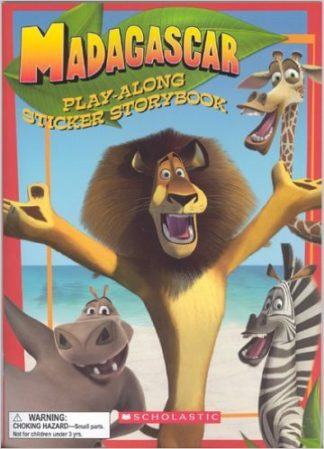Madagascar Play-Along Sticker Storybook cover