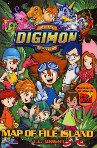 Digimon: Map of File Island cover