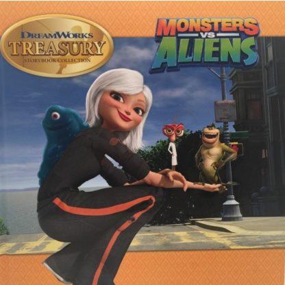 DreamWorks Treasury: Monsters vs. Aliens cover
