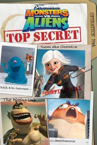 Monsters vs. Aliens: Top Secret cover