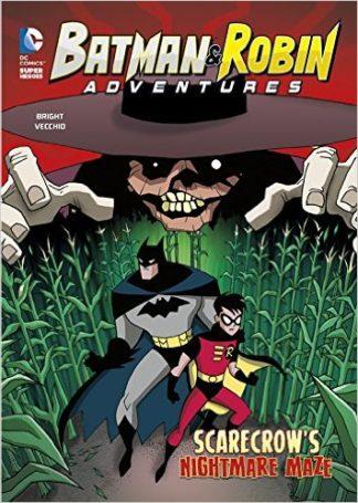 Batman and Robin Adventures: Scarecrow's Nightmare Maze cover
