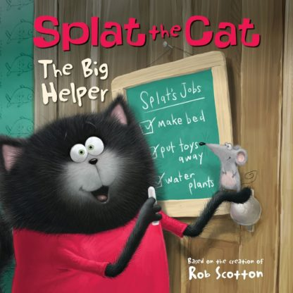 Splat the Cat: The Big Helper cover