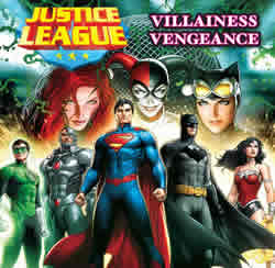 Justice League: Villainess Vengeance cover